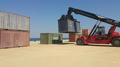 activity at the port of Duqm
